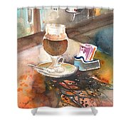 Latte Macchiato In Italy 02 Shower Curtain