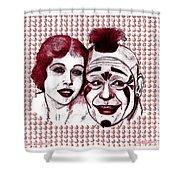 Laugh Clown Laugh Shower Curtain