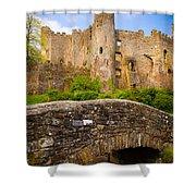 Laugharne Castle Shower Curtain