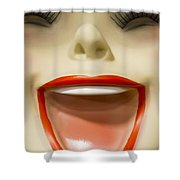 Laughter Shower Curtain