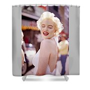 Laughter Of Marilyn Shower Curtain