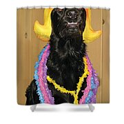 Laughter Yoga For Dogs Shower Curtain