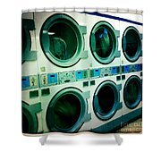 Laundromat Shower Curtain