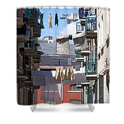 Laundry Ix Color Venice Italy Shower Curtain
