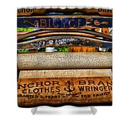 Laundry The Clothes Wringer Shower Curtain