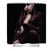 Laura Witch Shower Curtain
