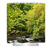 Lauragh River West Cork Shower Curtain