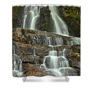 Laurel Falls Cascades Shower Curtain