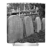 Laurel Hill Headstones Shower Curtain