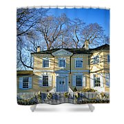 Laurel Hill Mansion Shower Curtain
