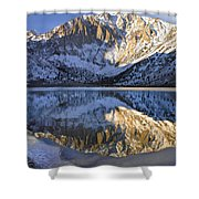 Laurel Mt And Convict Lake Sierra Shower Curtain