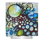 Lava Lamp Studio No.1 Shower Curtain