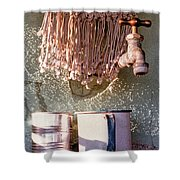 Lavadero Shower Curtain
