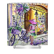 Lavanda Di Venzone In Bergamo Shower Curtain