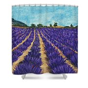 Lavender Afternoon Shower Curtain