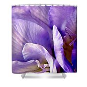 Lavender Beauty Minimalism Shower Curtain