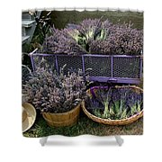 Lavender Harvest Shower Curtain
