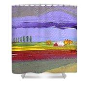 Lavender Hills Shower Curtain