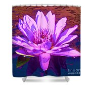 Lavender Lily Shower Curtain