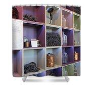 Lavender Museum Shop Shower Curtain