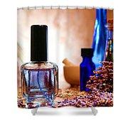 Lavender Shop Shower Curtain