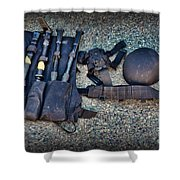 Law Enforcement -swat Gear - Entry Tools Shower Curtain