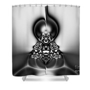 Law Of Superposition Shower Curtain by Peter R Nicholls