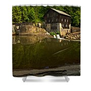 Lawrence County Grist Mill Shower Curtain