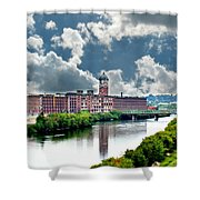 Lawrence Ma Historic Clock Tower Shower Curtain