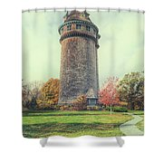 Lawson Tower Shower Curtain