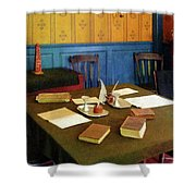 Lawyer - 19th Century Lawyer's Office Shower Curtain