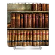 Lawyer - Books - Law Books  Shower Curtain