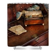 Lawyer - Important Documents  Shower Curtain by Mike Savad