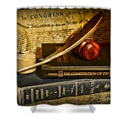 Lawyer - The Constitutional Lawyer Shower Curtain
