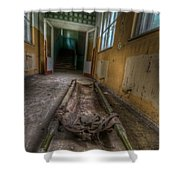 Layed To Rest Shower Curtain