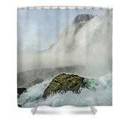 Layered Falls Shower Curtain