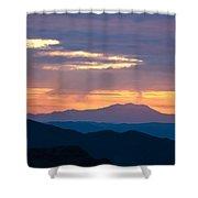 Layers - The Mojave II Shower Curtain