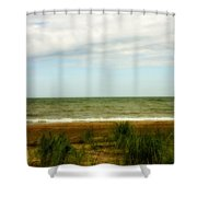 Natural Layers Shower Curtain
