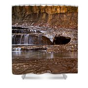 Layers Of Falls Shower Curtain