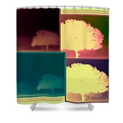 Layers Of Fog Shower Curtain