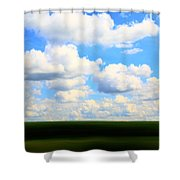 Layers Of Summer In Ohio Shower Curtain