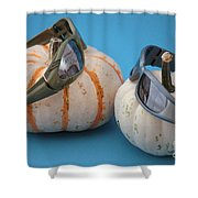 Lazy Days Of Fall Shower Curtain