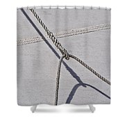 Lazy Jack-shadow And Sail Shower Curtain