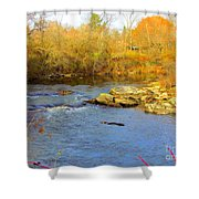 Lazy River Shower Curtain