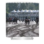 Lazy Saratoga Afternoon Shower Curtain