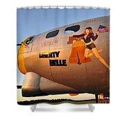 Liberty Belle Sunset Shower Curtain