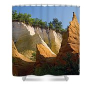le Colorado Ochre  Shower Curtain
