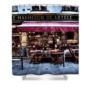 Le Marmiton De Lutece Paris France Shower Curtain