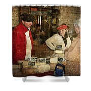 Le Mercant De Fromage Revel France Img7482 Shower Curtain