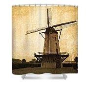 Le Moulin Jaune  Shower Curtain